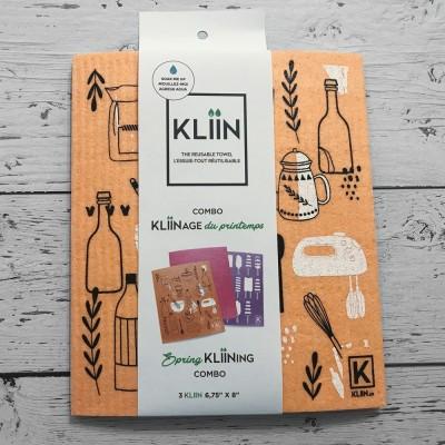 Essuie-Tout Klinn - Combo Gourmand (3 petits)