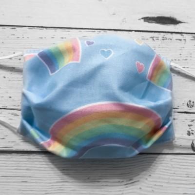 Masque Lavable Enfant - Arc-En-Ciel #17
